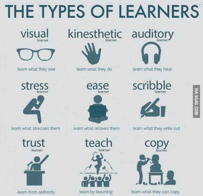 The Types of Learners..