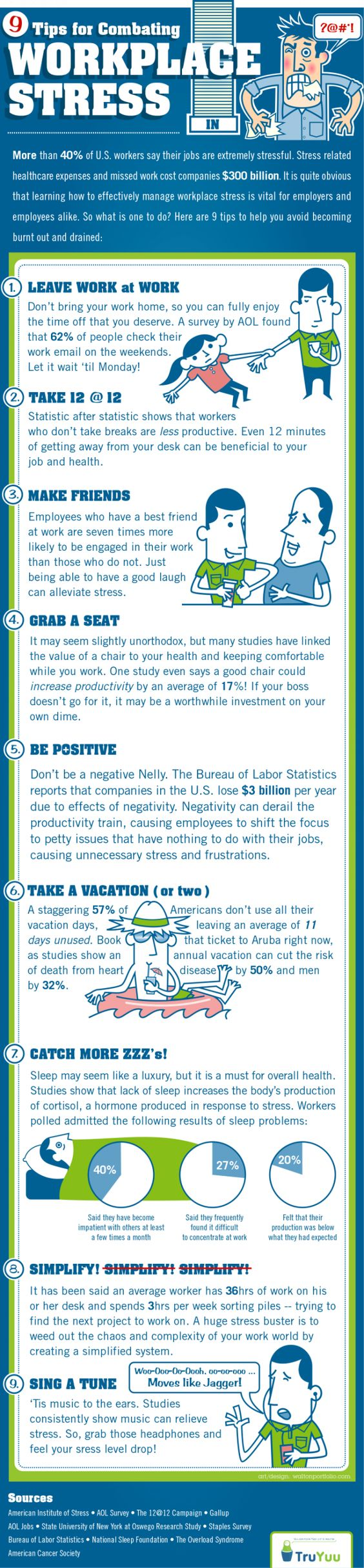 Fighting Workplace Stress? Here Are 9 Good Tips To Help Get You Started