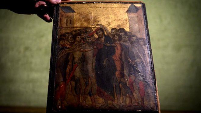İsa ile alay tablosu
